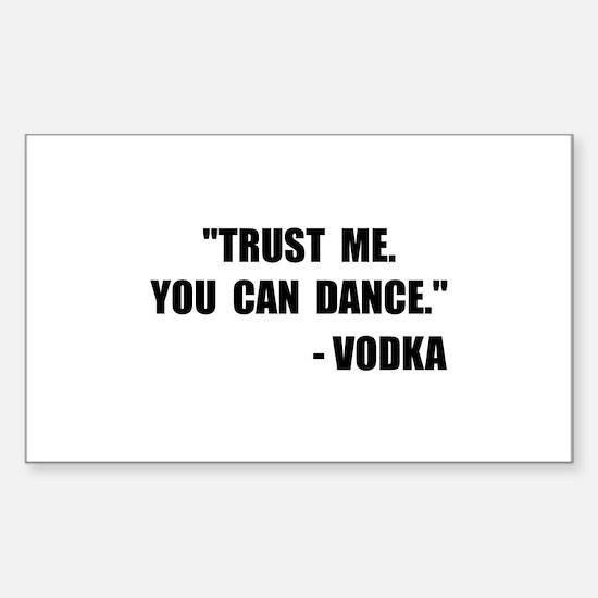 Vodka Dance Decal