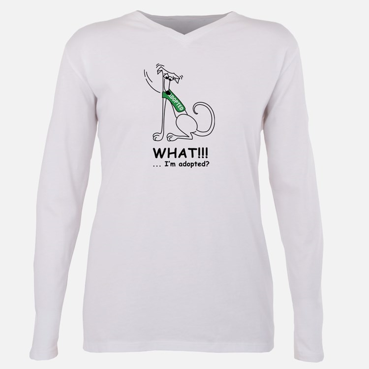 What? Ash Grey T-Shirt