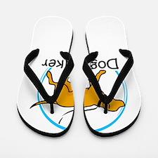 dog walker Flip Flops