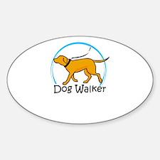 dog walker Decal