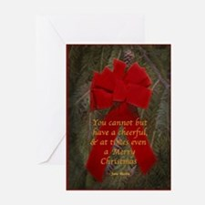 Jane Austen Christmas Cards (Pk of 10) Greeting Ca
