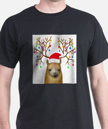 Christmas Alpaca T-Shirt