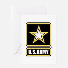 U.S. Army: U.S. Army Star Logo Greeting Cards