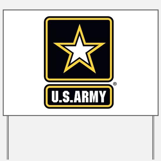U.S. Army: U.S. Army Star Logo Yard Sign