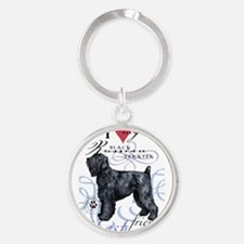 Black Russian Terrier s Keychains