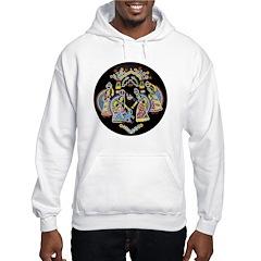 Hindu Art Hooded Sweatshirt