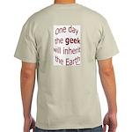 The Geek Will Rule Ash Grey T-Shirt