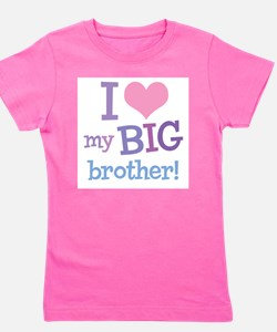 Love My Big Brother Kids T-Shirt