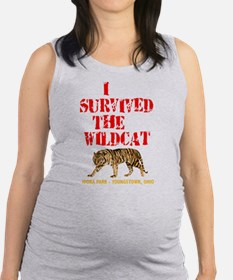 I survived the Wildcat! Maternity Tank Top