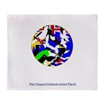 CCTGreetingCard-Birds.gif Throw Blanket