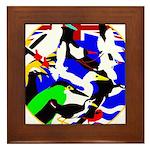 DG Birds Square TRANS.gif Framed Tile