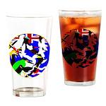DG Birds Square TRANS.gif Drinking Glass