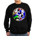 DG Birds Square TRANS.gif Sweatshirt