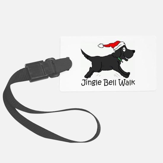 CHRISTMAS DOG - Jingle Bell Walk Luggage Tag
