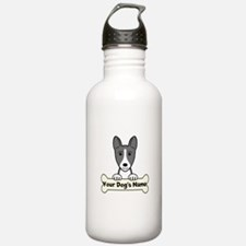 Personalized Basenji Water Bottle