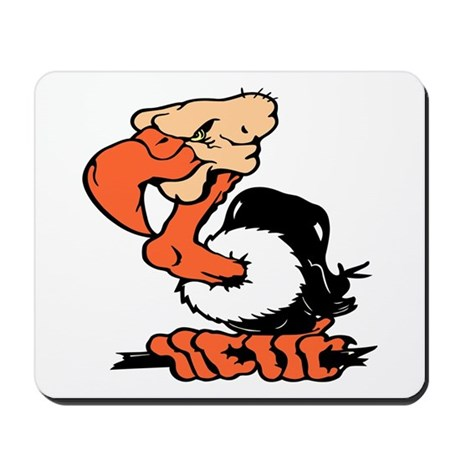 Funny Buzzard Mousepad