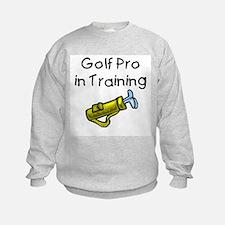 golfprointraining.bmp Sweatshirt