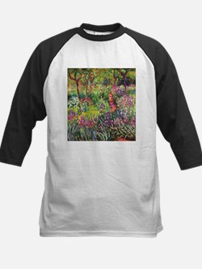 Iris Garden by Monet Baseball Jersey