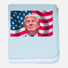 Trump baby blanket