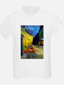 Cafe Terrace at Night by Van Gogh T-Shirt