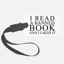 Cute Banned books Luggage Tag