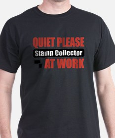 Stamp Collector Work T-Shirt