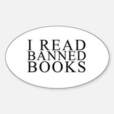 I READ BANNED BOOKS Decal