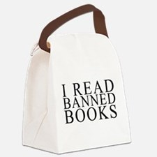 I READ BANNED BOOKS Canvas Lunch Bag