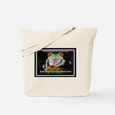 Colon Frog Lrg Tote Bag