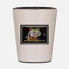 Colon Frog Lrg Shot Glass