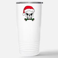 Christmas mistletoe sku Stainless Steel Travel Mug