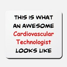 awesome cardiovascular tech Mousepad