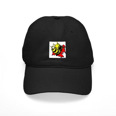 Bee Hornet Tearout Black Cap