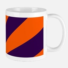 Orange and Purple Sunburst Mugs