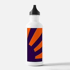Orange and Purple Sunb Water Bottle