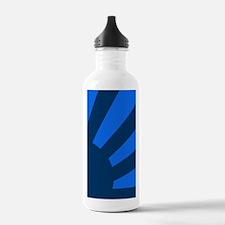 Blue Sunburst Water Bottle