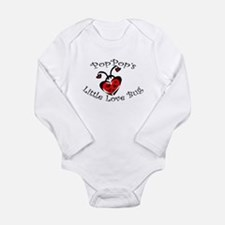 PopPop's Love Bug Ladybug Body Suit