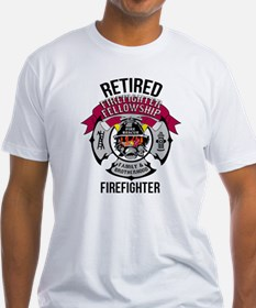 Retired Firefighter T Shirt T-Shirt