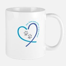 pets leave paw prints on your heart Mugs