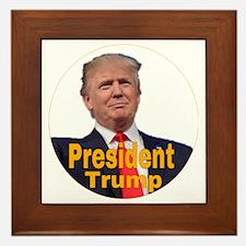 Republican presidents Framed Tile