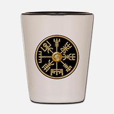 Funny Viking compass Shot Glass