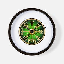 Viking compass Wall Clock