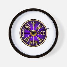 Funny Viking compass Wall Clock