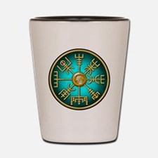 Cute Viking compass Shot Glass