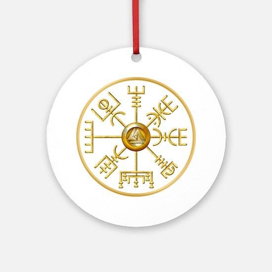 Cute Charm Round Ornament