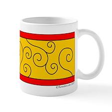 Swirl Band Xen Small Mug