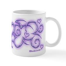 Purple Heart Swirl Xen Mug