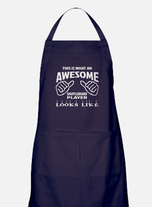 This is what an awesome Shuffleboard Apron (dark)