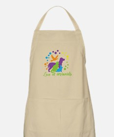 love all animals Apron