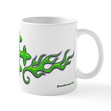 Green Cross Flame Xen Mug
